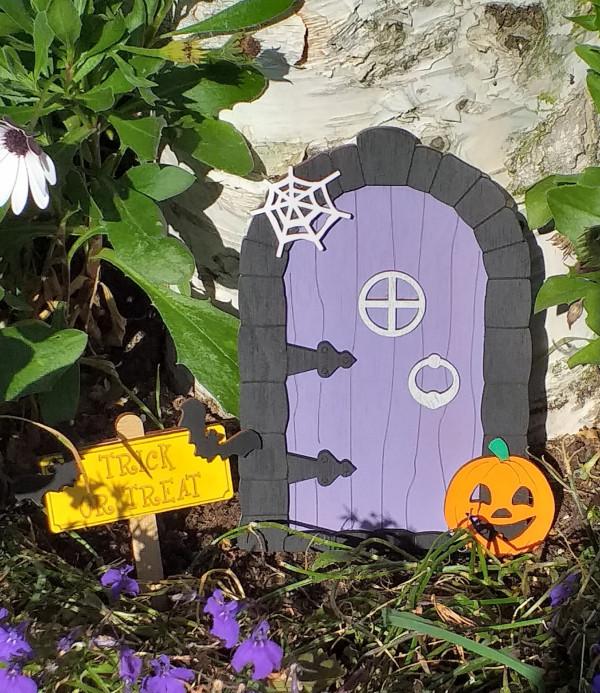 Halloween Fairy Door - 20210907 100007