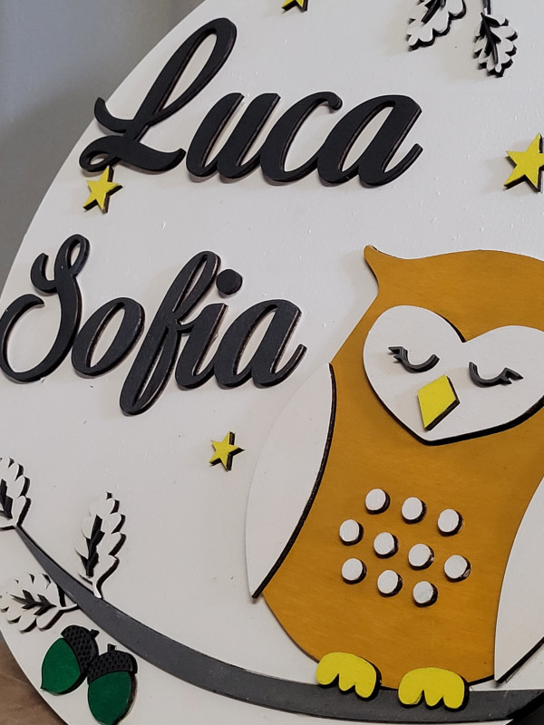 Personalised Owl Name Sign - 20210916 142053 scaled