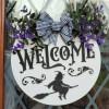 Halloween Welcome 3D Door Sign