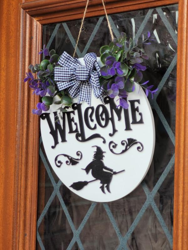 Halloween Welcome 3D Door Sign - 20210918 183104 scaled