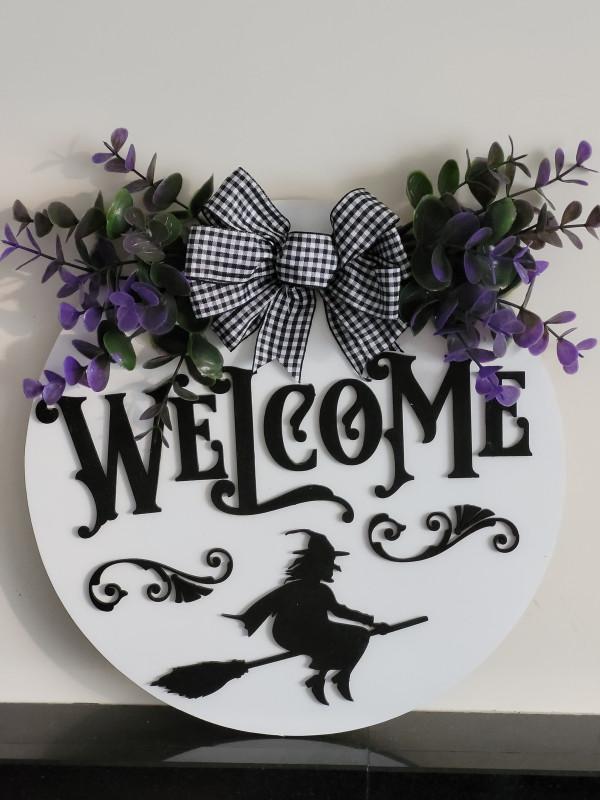 Halloween Welcome 3D Door Sign - 20210918 184027 scaled