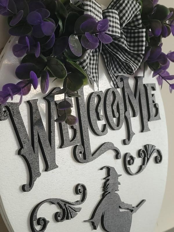 Halloween Welcome 3D Door Sign - 20210918 184046 scaled