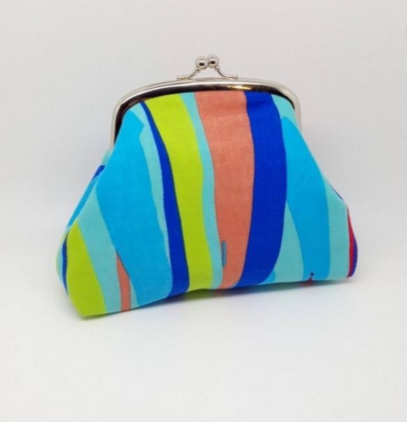 Bright Stripe Clutch Bag - 20210919 165024