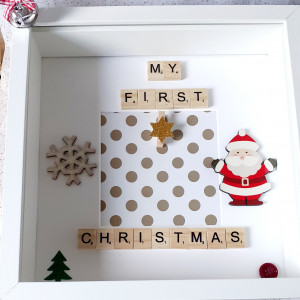 My First Christmas Photo Frame