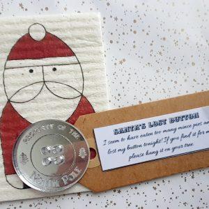 Santa's Missing Button