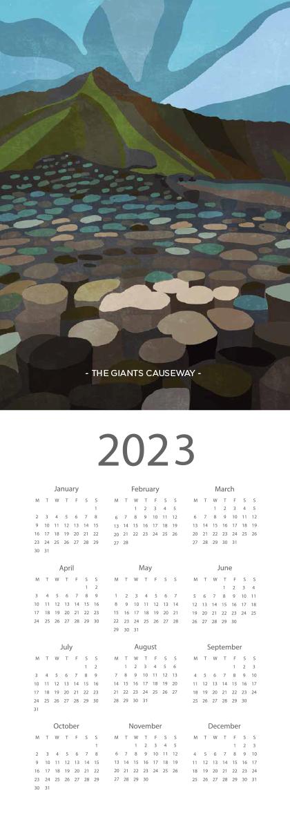 Landscape Ireland 2022 Calendar - 2023 screen ready landscape calender 14