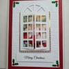 Traditional Merry Christmas Santa I Window