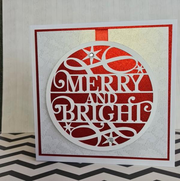 Merry and Bright Xmas Handmade Card - 241405286 304411768116767 2803240001009284327 n