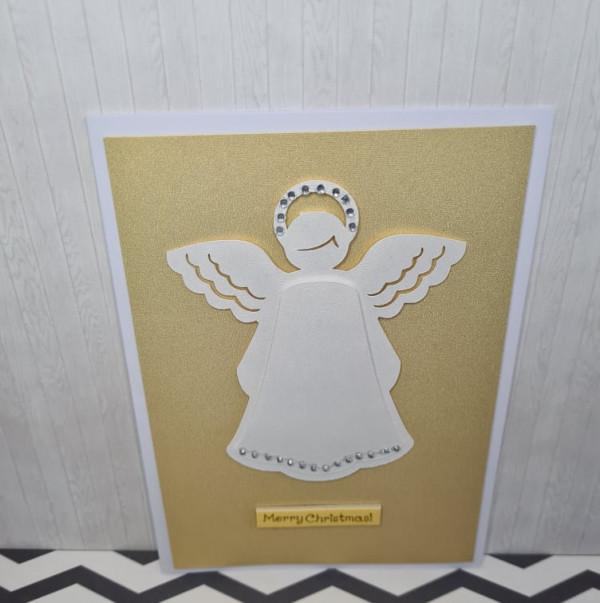 Merry Christmas Angel Card - 241556424 388584509306359 7239096912390087045 n