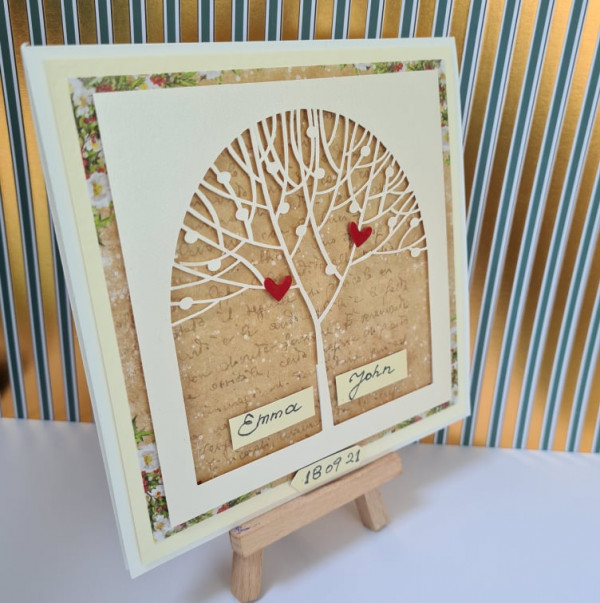 Out of stock - Wedding Tree Personalised Card - 242215189 580735829634341 8853955648324078300 n