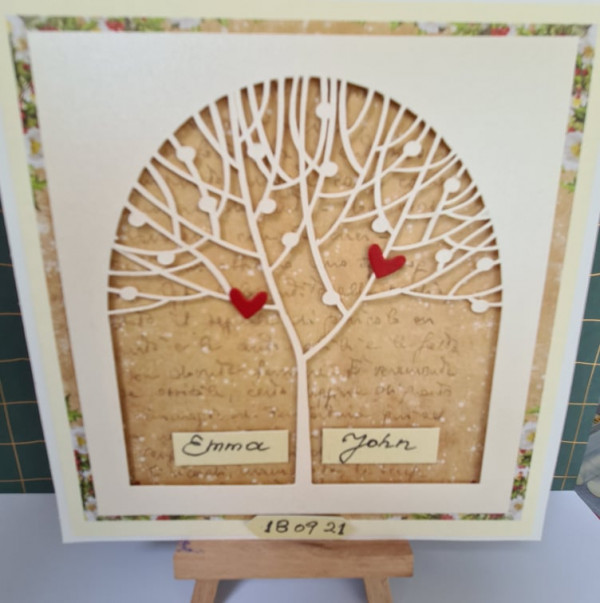 Out of stock - Wedding Tree Personalised Card - 242216144 393355348970371 3536744507405088307 n
