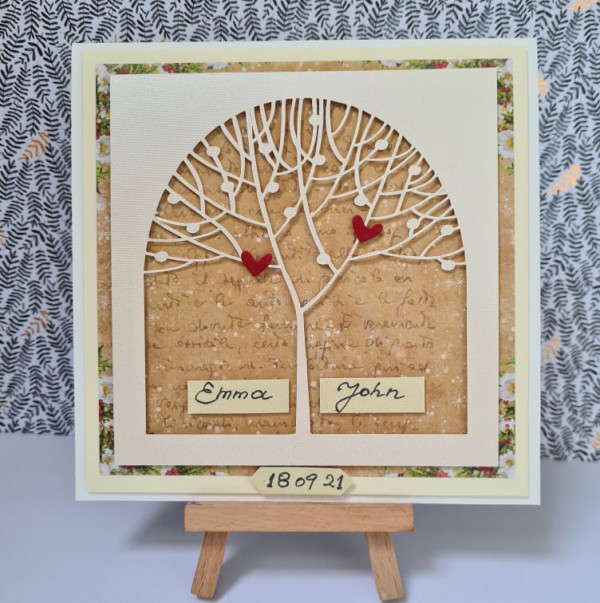 Out of stock - Wedding Tree Personalised Card - 242230301 254408129917675 5425684778357084624 n
