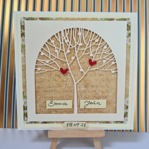 Out of stock - Wedding Tree Personalised Card - 242250167 387000859489722 2490370358201960464 n