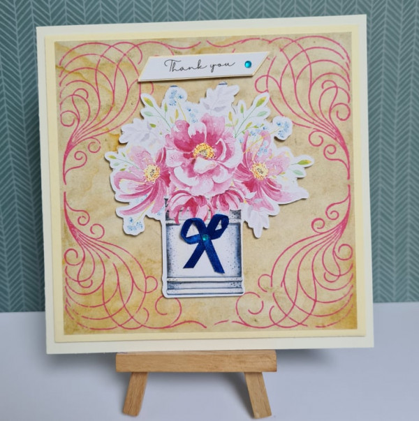 Flowers Thank You Card
