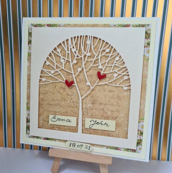 Out of stock - Wedding Tree Personalised Card - 242260049 3216762858610237 1469728435822492491 n