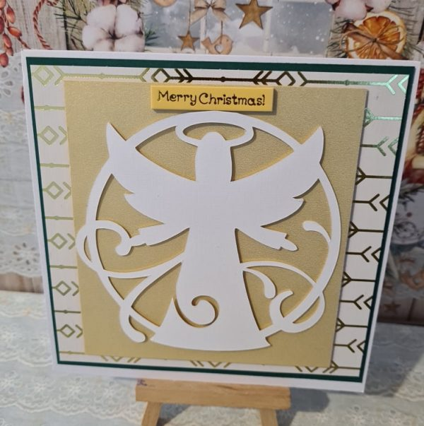 Christmas Angel Handmade Card - 243022234 1036825293837676 8073322654784544358 n
