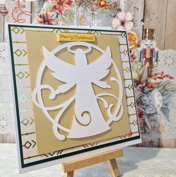 Christmas Angel Handmade Card - 243027841 185078947075357 3271537214999809679 n