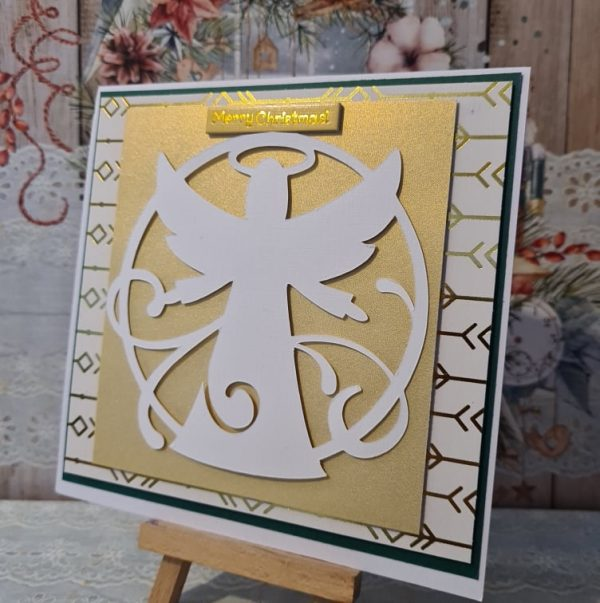 Christmas Angel Handmade Card - 243071106 403774137818012 248885030567582644 n