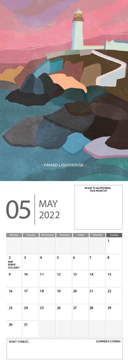 Landscape Ireland 2022 Calendar - 5 screen ready landscape calender 6