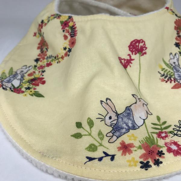 Baby Bib Rabbit Lemon - 549BCA9D B3C7 4F34 BB2A C2D1C8B78184 scaled