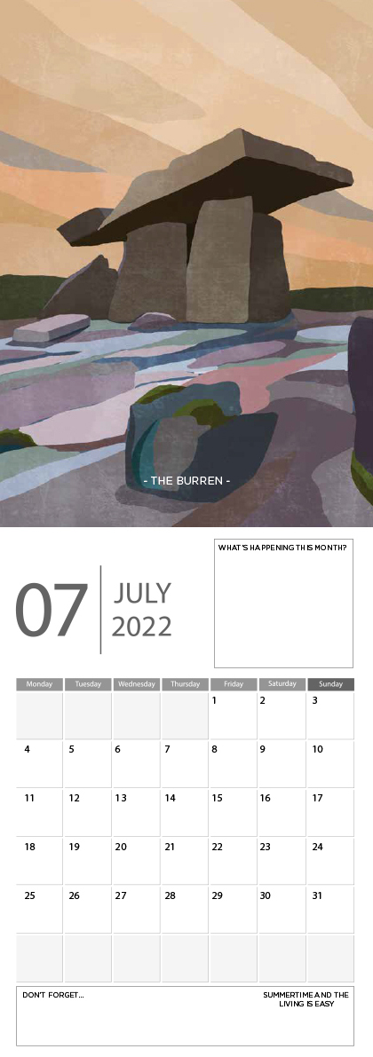 Landscape Ireland 2022 Calendar - 7 screen ready landscape calender 8