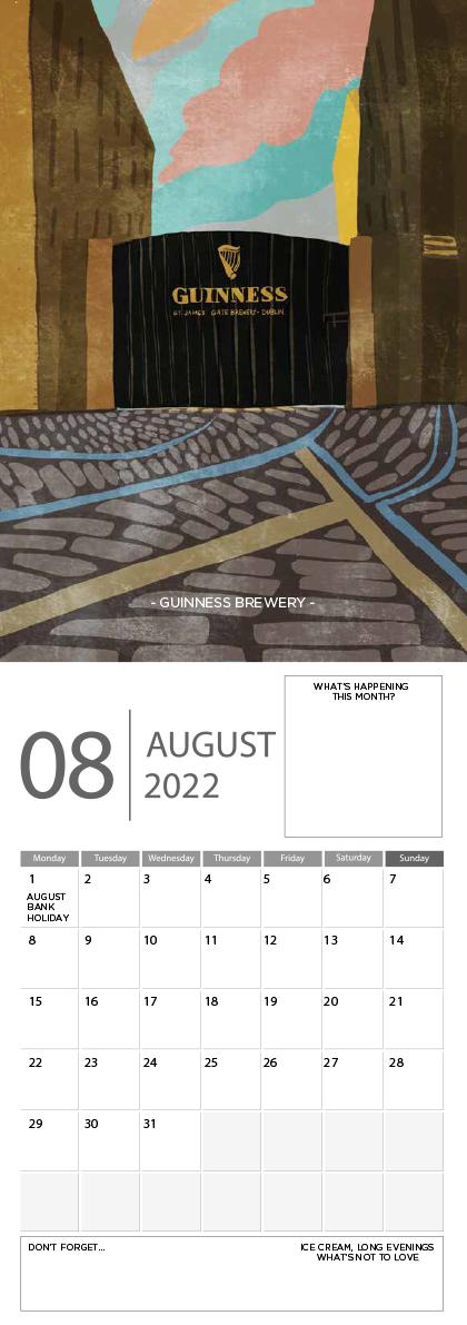 Landscape Ireland 2022 Calendar - 8 screen ready landscape calender 9