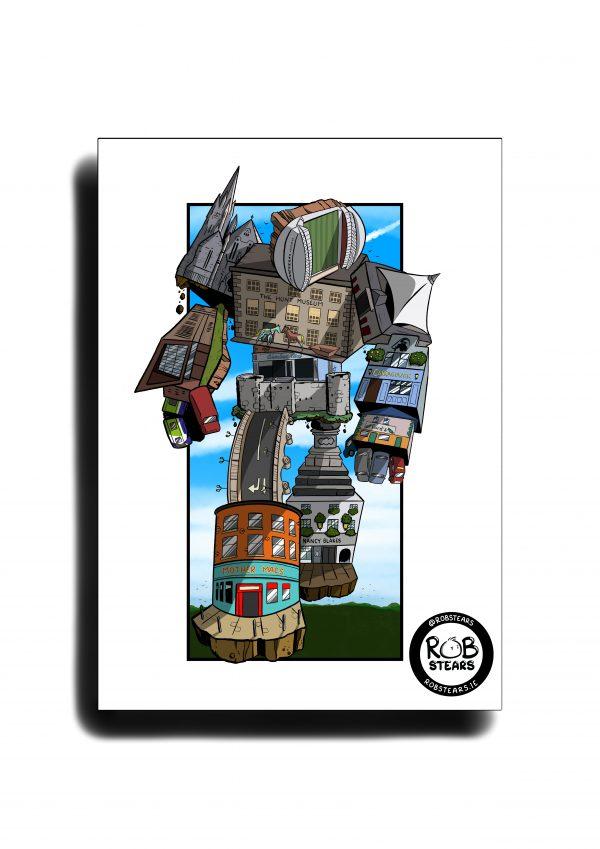 Limerick City Bot Wall Print