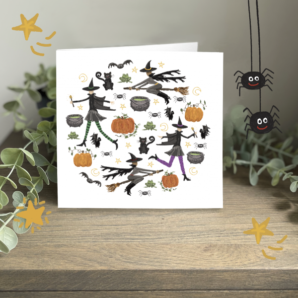 Wild Watermelon Greeting Card Crafty Coven