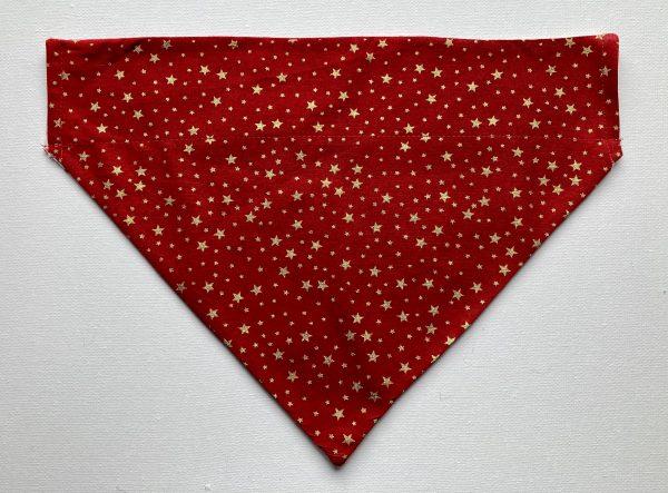 Christmas Reversible Dog Bandana - Winter Wonders / Gold Stars on Red - DAA7E500 3993 490A B5C7 56785C762785 scaled