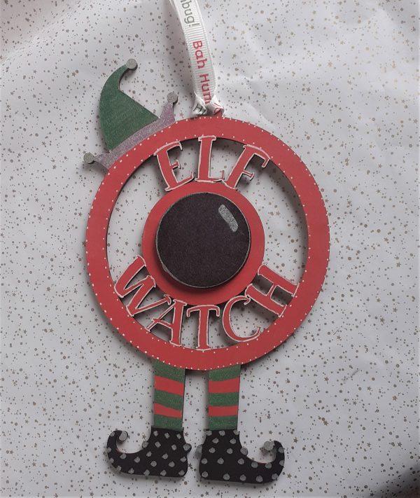 Elf Watch Decoration