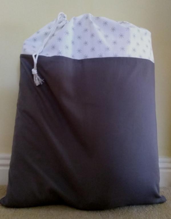 Hanging Laundry Bag - Hanging Laundry Grey 3