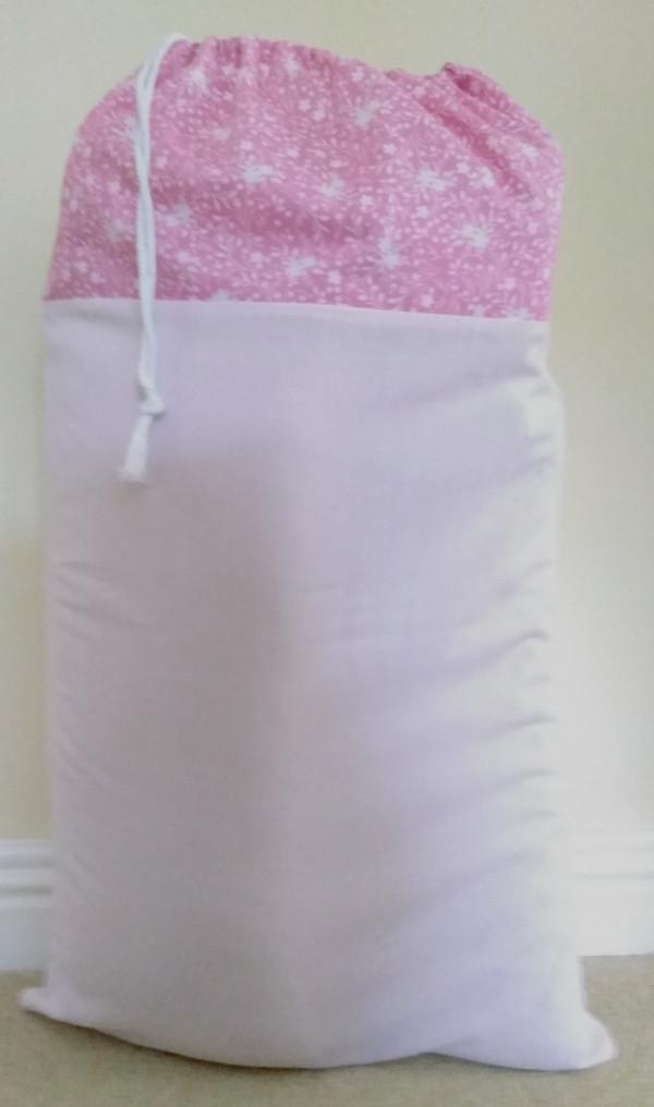 Hanging Laundry Bag - Hanging Laundry Pink 2