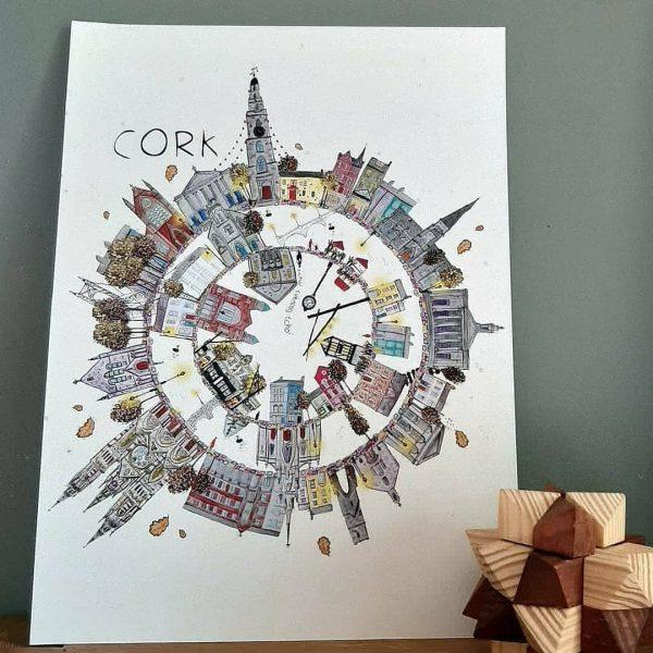 Cork City Fine A4 Fine Art Print