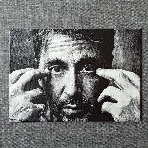 Al Pacino Engraved on a Canvas