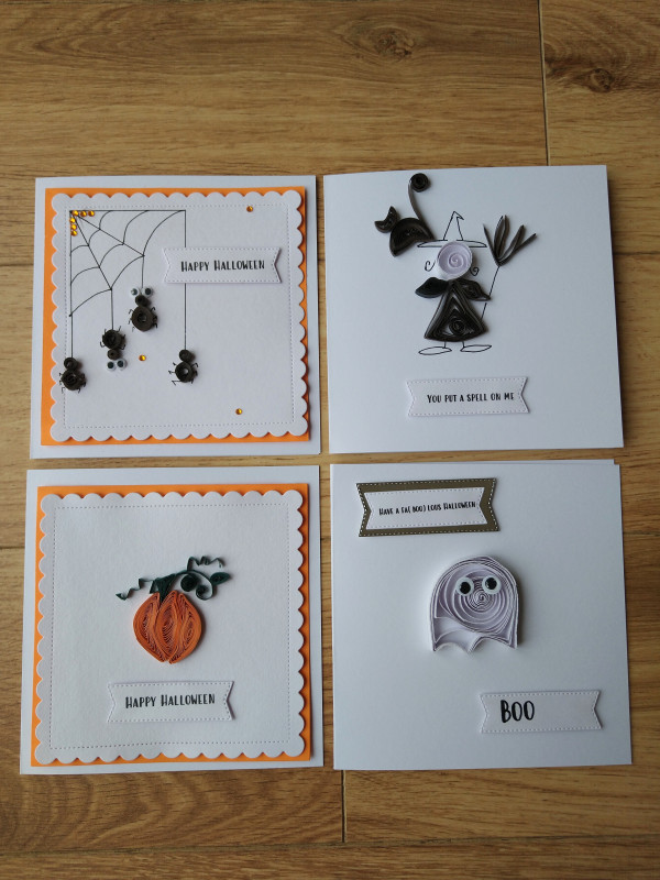 Selection of Halloween Cards