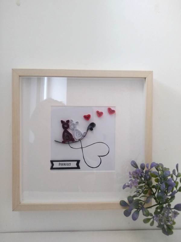 Personalised Quilled Frame Love and Cats - IMG 20210918 1216215253 scaled