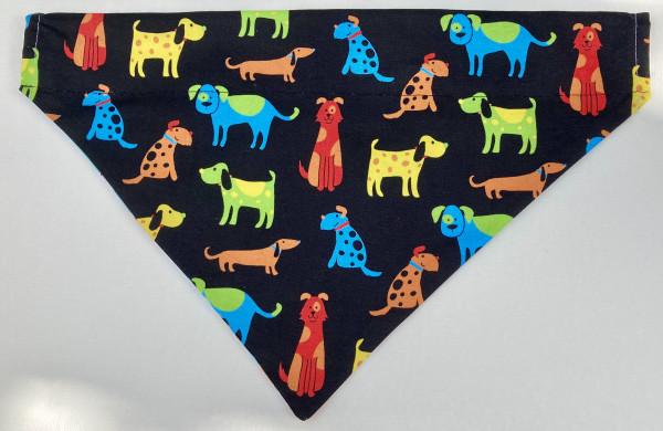 Reversible Dog Bandana - Dog Friends - IMG 5944 scaled