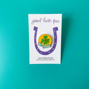 Good Luck Enamel Pin