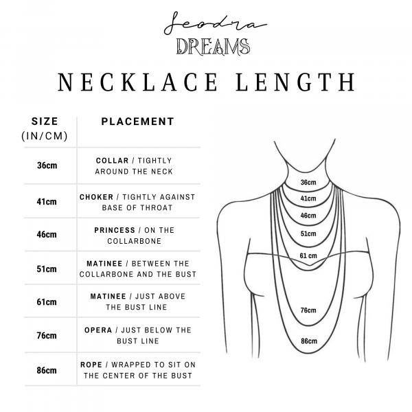 Eimear Necklace - Jewellry Size InCm 1