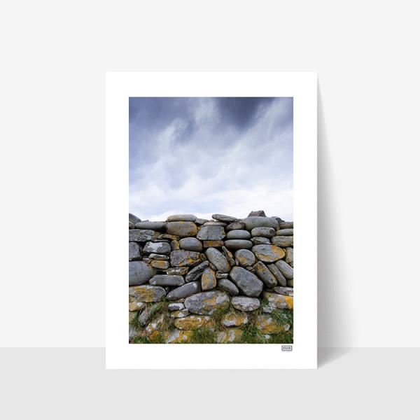 Stone Wall - A4 Print