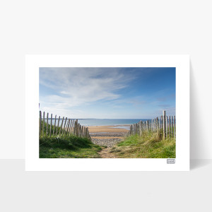 Spanish Point Beach - A4 Print