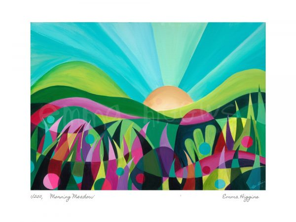 Morning Meadow Limited Edition Print - MMeadowWMP