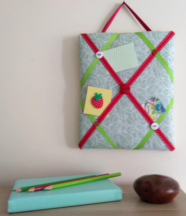 Mini Memo Board - Memo Board Green Leaf 1
