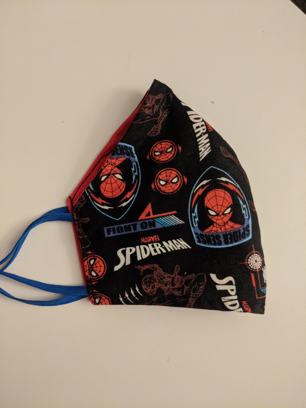 Spiderman Fitted Face Mask - PXL 20201217 073035290 scaled