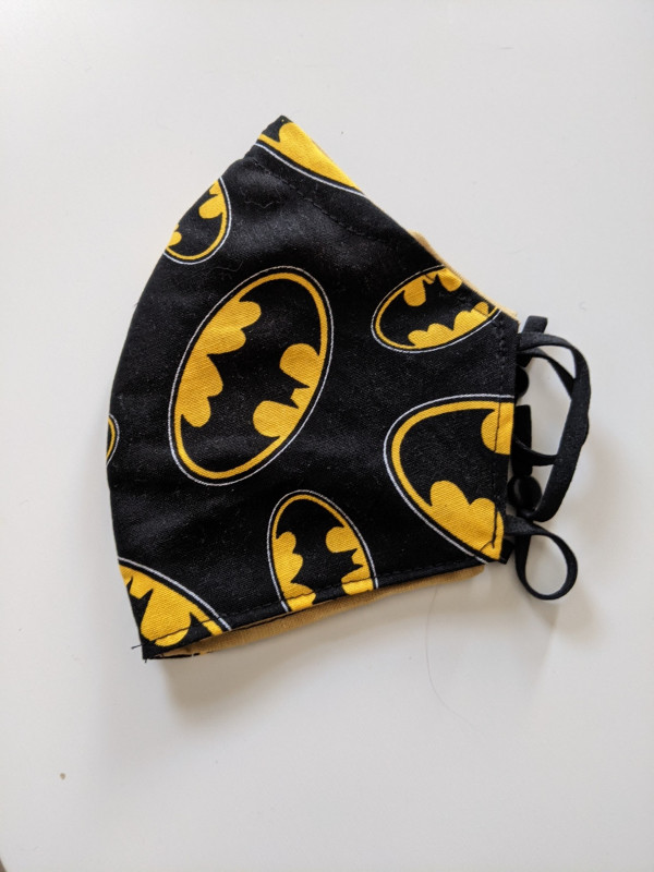Batman Fitted Face Mask - PXL 20210519 080719377 scaled