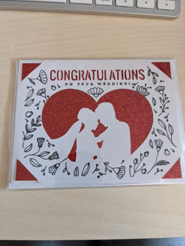 Wedding Greetings Card