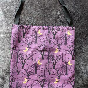 Spooky Trees Halloween Tote Bag
