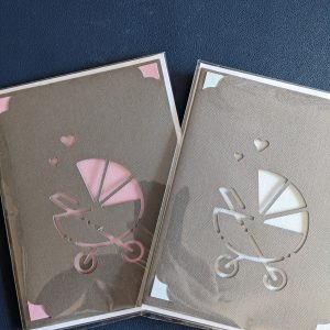 New Baby Pram Cards