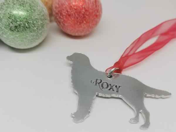 Golden Retriever Dog Breed Christmas Decoration - Polish 20210924 191233523