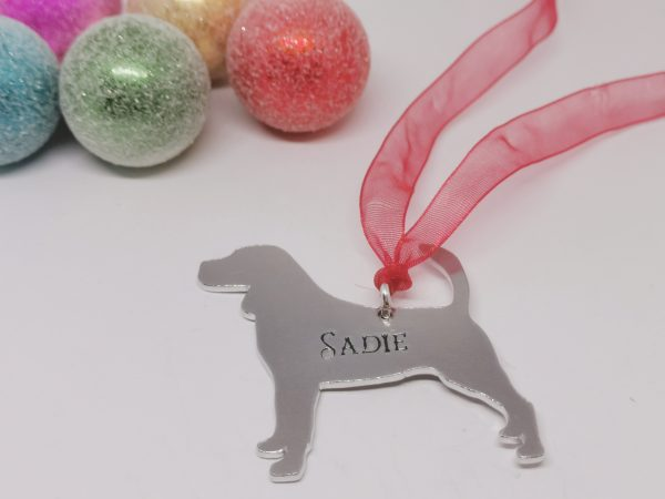 Beagle Dog Breed Christmas Decoration - Polish 20210924 191327543